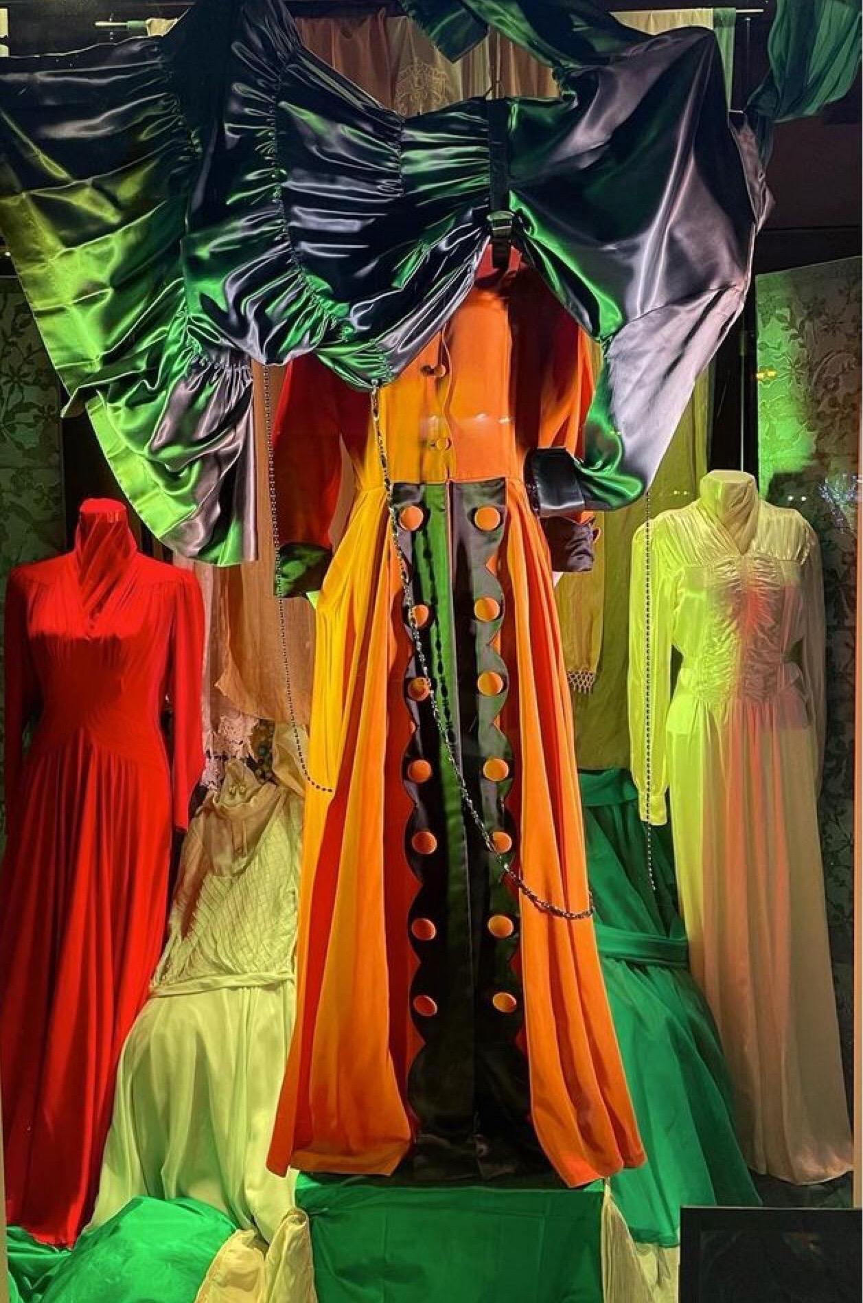 Hero Material A Costume Design Installation by Leona Brausen