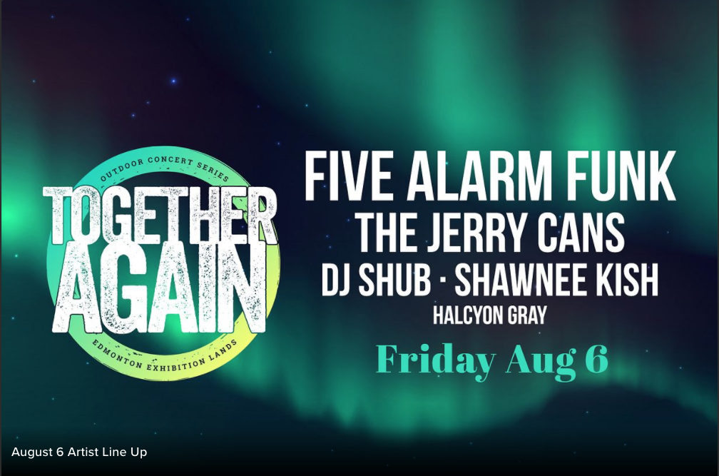Together Again: Five Alarm Funk and more
