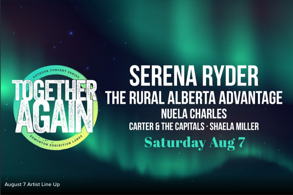 Together Again: Serena Ryder and more