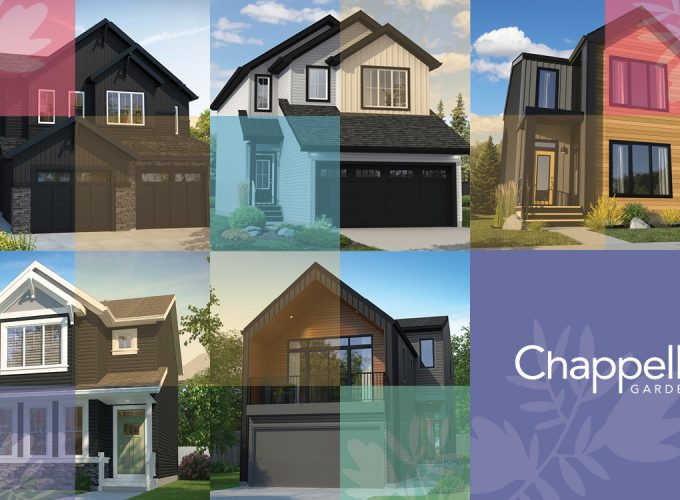 Explore 5 Brand New Show Homes in the Scenic and Peaceful Community of Chappelle Gardens