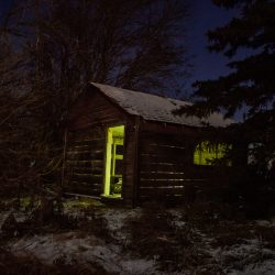 61 - Devon Cabin at Night_Smaller