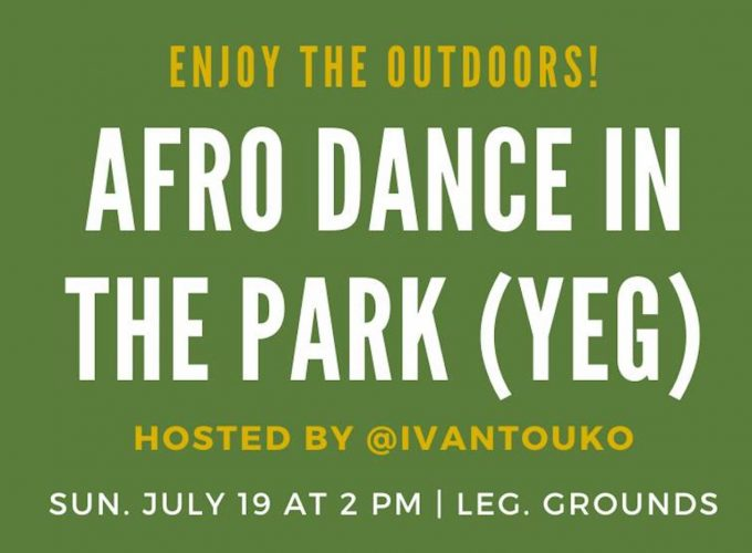 Afro Dance in the Park at Leg Grounds