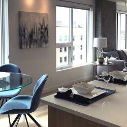 A peek inside a 13th floor suite