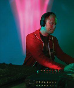 Shawn Pinchbeck mixes sound.