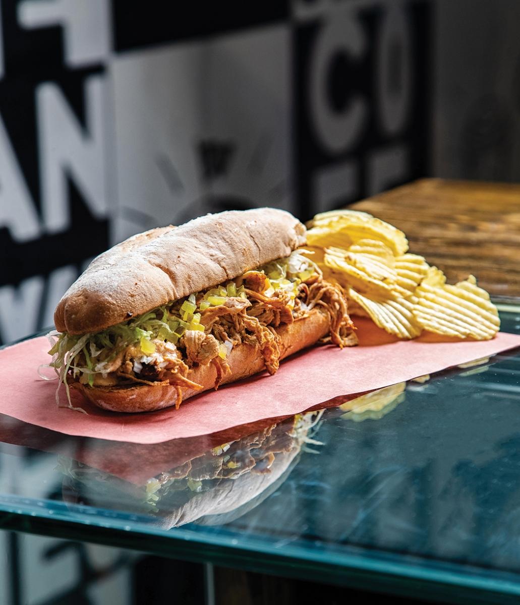 Sandwich from Farrow, Edmonton
