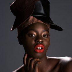 Model: Nyagoa, designs by Noah Milo