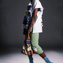 Model: Nyagoa (standing), designs by Noah Milo