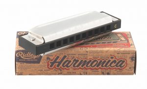 Entertain (or annoy) travel mates with Ridley's Super Honky Tonk Sound harmonica, which is $9.99 at Cally's Teas. (10151 82 Ave., 780-757-8944)