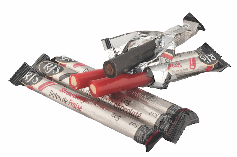 When licorice and chocolate come together, they make an ideal snack for the road. At Cally's Teas, the chocolate-filled licorice sticks ($1.99 each) come in two flavours, RJ's Licorice Chocolate and Strawberry White Chocolate logs. (10151 82 Ave., 780-757-8944)