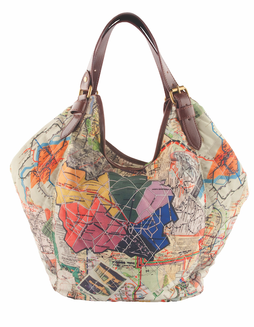 Pack all of your road trip essentials in the Sydney Love quilted tote, designed by Christine DeGennaro. It's $74.99 at Flurries. (Kingsway Garden Mall, 780-474-0824, and three other locations)