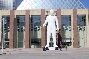 Fantastic Planet, standing sculpture
