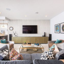 How Two Local Designers Transformed These Family Living Rooms into Stylish and Functional Spaces