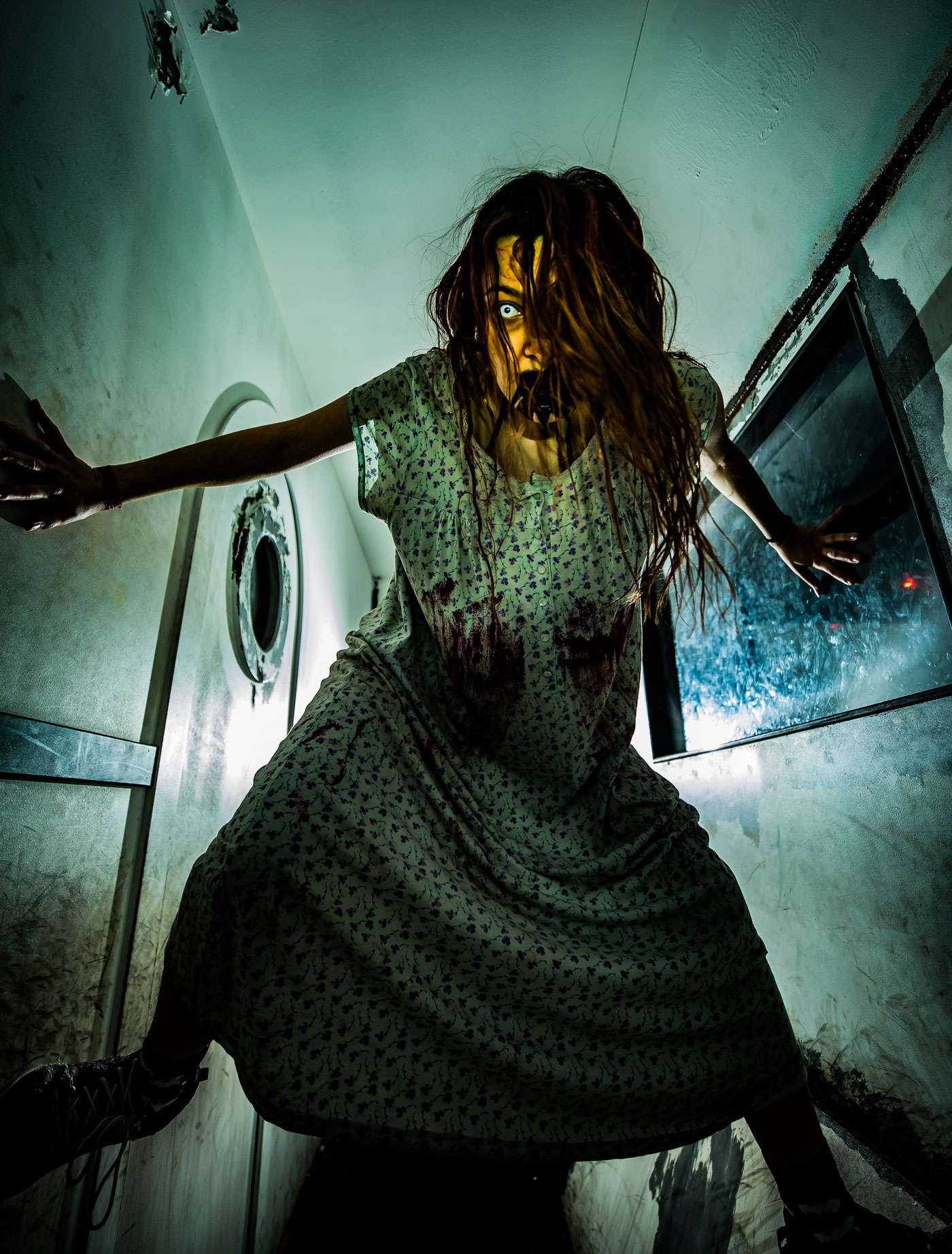 Deadmonton Haunted House and Halloween Store, screaming