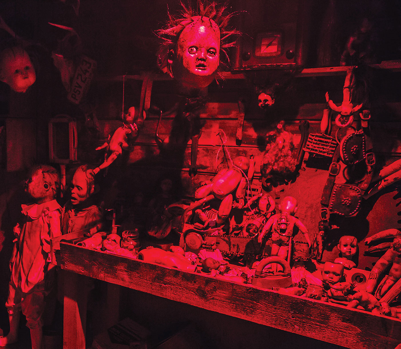 Deadmonton Haunted House and Halloween Store, red image