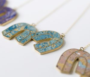Béton Brut jewellery designed by Amanda Nogier