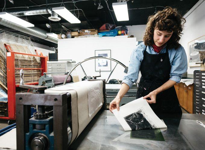 Making Printmaking Mainstream in Edmonton