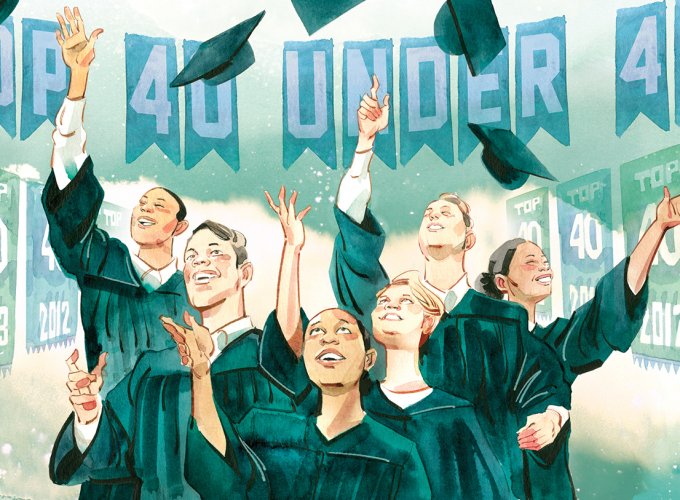 We Catch Up With Some of Our Top 40 Under 40 Alumni