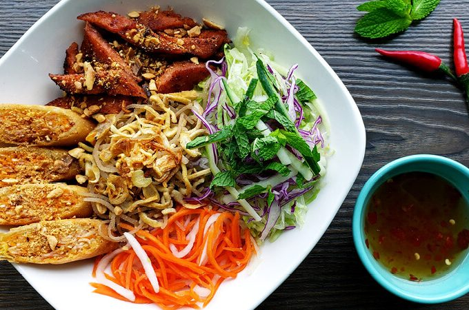 Best Things to Eat: Vermicelli Special Bowl from An Chay