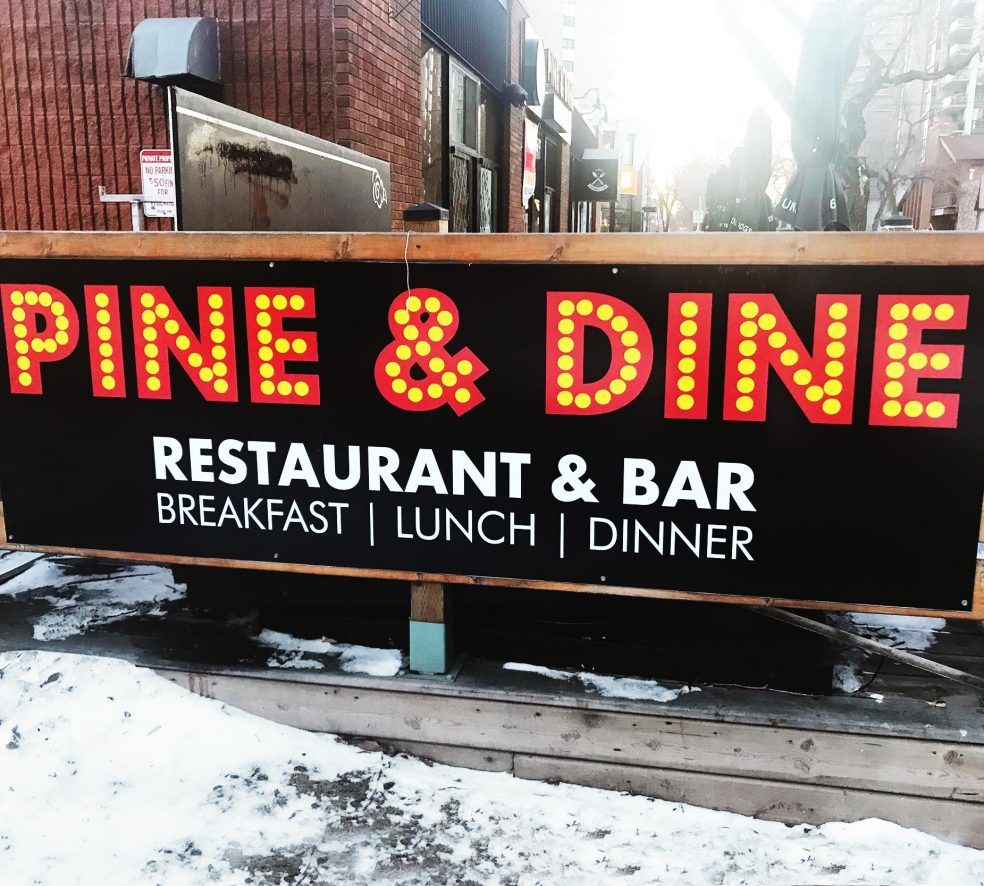 New Restaurant: Pine and Dine