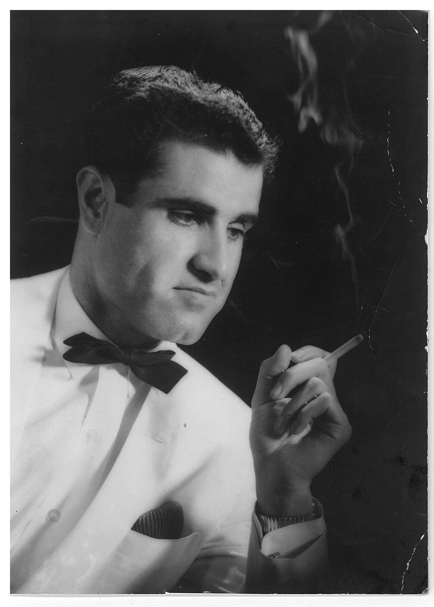 A young Eddy Haymour