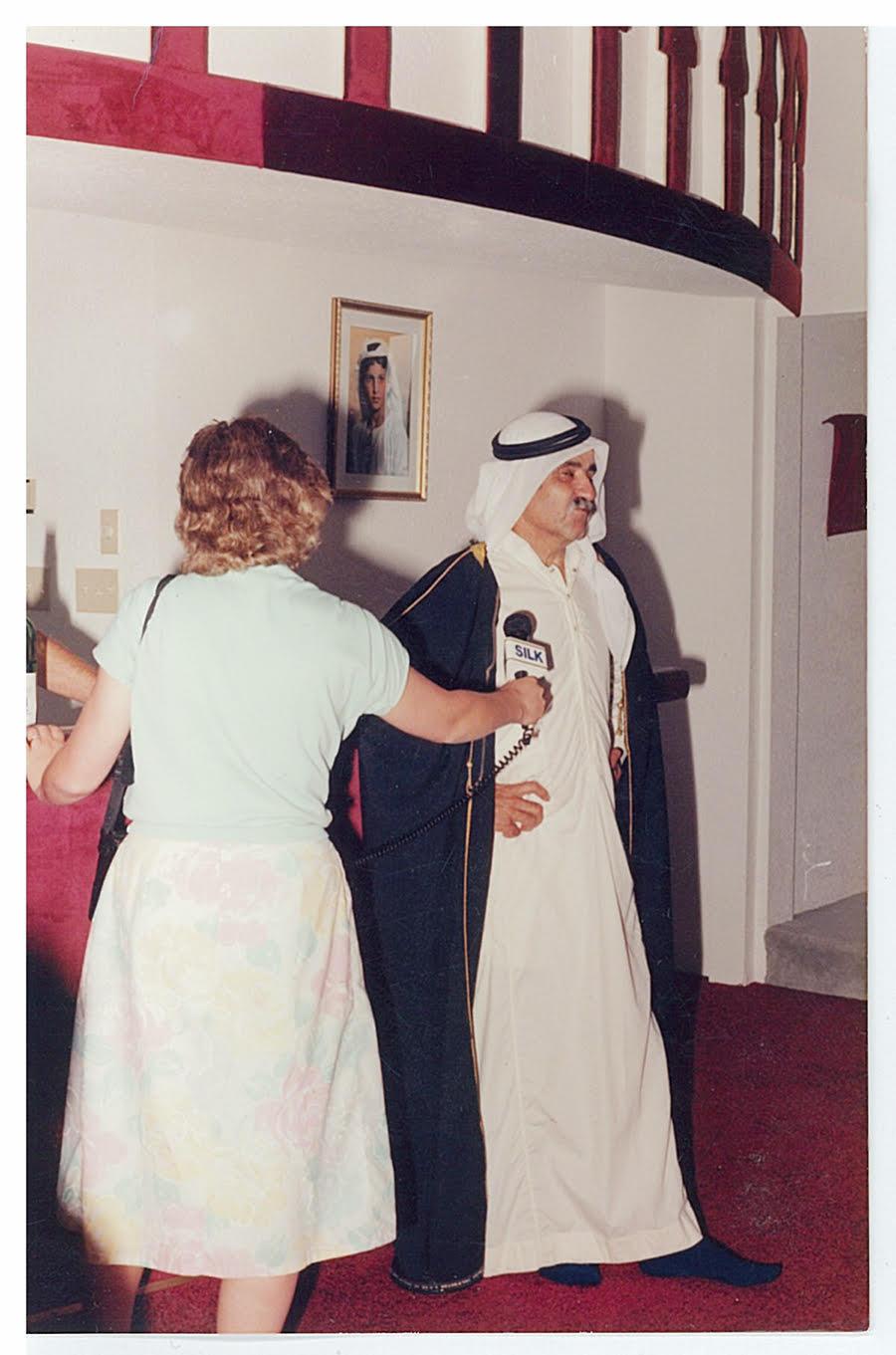Eddy Haymour in Middle East