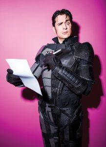 Mark Meer in cosplay