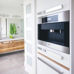 Open concept of the Barbour home, Edmonton