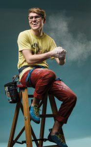 Ian Dyer, rock climber