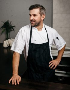 Chef and owner Ryan Hotchkiss