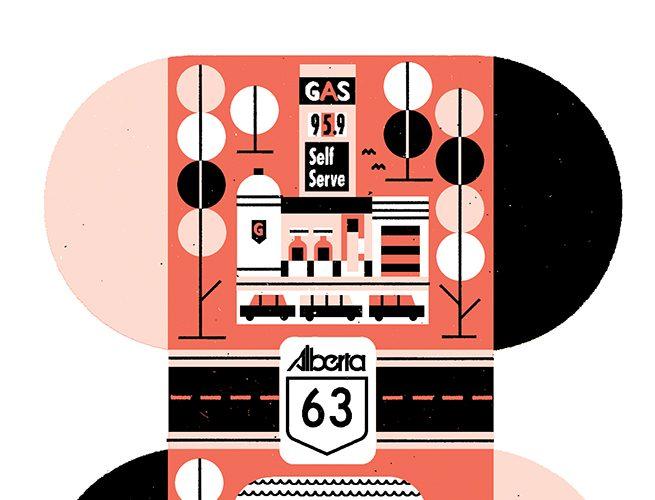 Bound by Highway 63