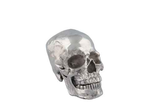 This decorative skull ($129) from Chintz & Company is the most elegant way to be ghoulish year round. (10502 105 Ave., 780-428-8181)