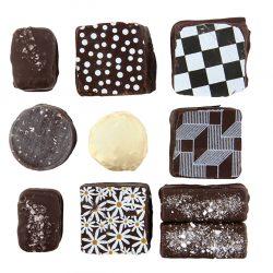 Assortedchocolates, $2 per piece, fromSweet Lollapalooza. (10155 102 St., 780-436-3190)