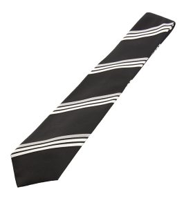 Eton diagonal stripetie, $125, fromHenry Singer. (8882 170 St., 780-423-6868)