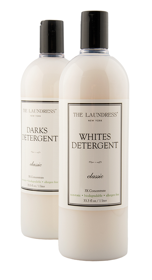 Laundress Darksdetergent, $22.95, and Whitesdetergent, $22.95, both fromCarbon Environmental Boutique. (10184 104 St., 780-498-1900)