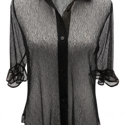 Carven lacechemise, $345, fromCoup {Garment Boutique}. (10137 104 St., 780-756-3032)
