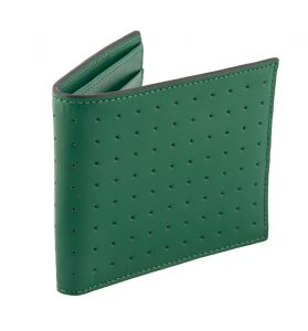 Ridged leather bill holder, by Jack Spade, $145, from The Artworks.