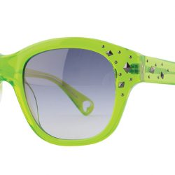 Double the Love sunglasses, by Betsey Johnson, $306, from Women with Vision. (10515 109 St., 780-423-3937)