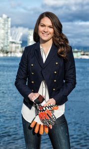 Erin McLeod in Vancouver