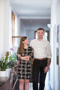 Robyn Webb and Vedran Skopac