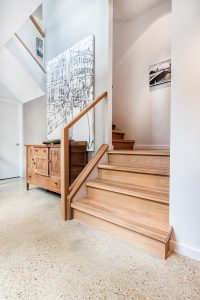 Stairway, home of Doug and Trish Mills