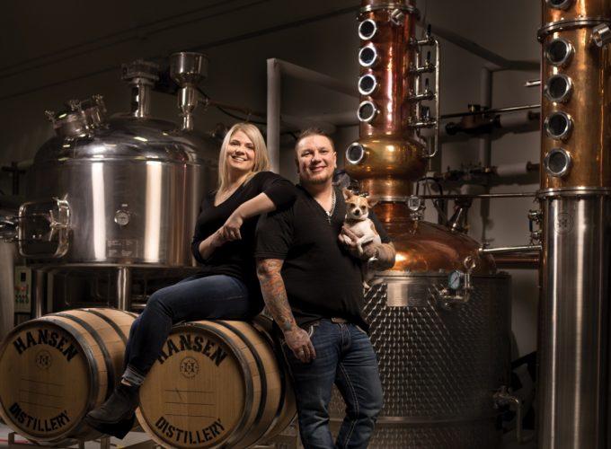 Three Generations of Distillers