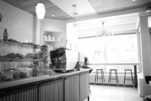 Interior of Coffee Bureau