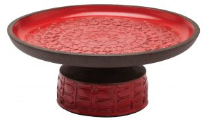 Handmade ceramic serving tray by KleinReid, $695, from The Artworks. (101B Edmonton City, 780-420-6311)