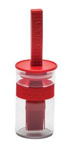 Bodum sauce pot, $25.95, from The Pan Tree. (220 Lakeland Dr., Sherwood Park, 780-464-4631)
