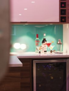 Cabinets and backsplash from Waygood's Kitchen