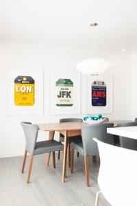 White kitchen designed by Michelle Pollock