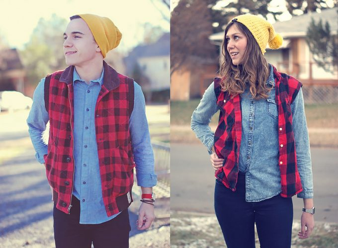 Flannel Foxes Brings #TomboyStyle