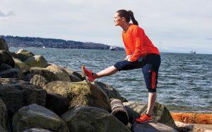 Erin McLeod, athletic gear