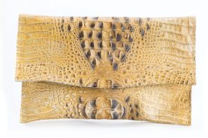 Britta clutch, $270, from Who Cares Wear