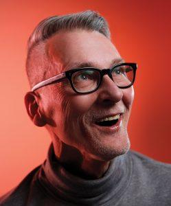 Steve Csorba smiling